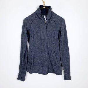 Lululemon Herringbone Pullover 1/2 Zip Sweatshirt